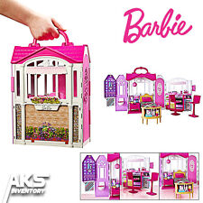 Barbie Glam Getaway Dream House Furniture Girls Kids Toy Playhouse Fun Gift New