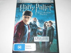 HARRY POTTER AND THE HALF BLOOD PRINCE 2 DISC special edition DVD R4 NEW