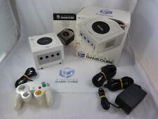 nintendo gamecube console ***pearl white*** -CIB-