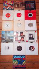 """Job Lot 1980s Synth Pop Vinyl 7"""" Depeche Mode Erasure Human League Bowie Visage"""