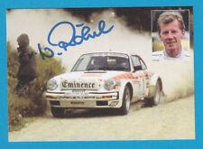 Walter Röhrl - Porsche - Karte - Rallye San Remo - # 16894 - 1