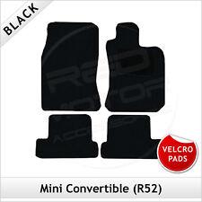 Gamuza tapices set para BMW Mini ONE Cooper r52 cabrio alfombrillas coche alfombras