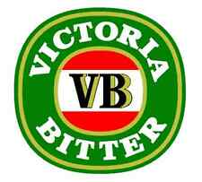 VB Sticker 110x105mm Victoria Bitter  Beer decal BUY 2 GET A 3rd FREE