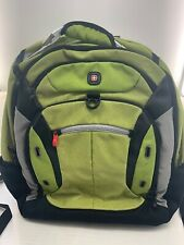 New Wenger by SwissGear Multi-Compartment Lime Green Backpack