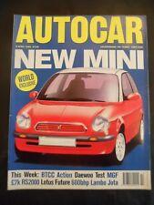Autocar - 5 April 1995 - Audi A6 2.5 tdi - Mini - Daewoo Espero