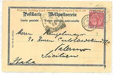 GIBRALTAR - POSTAL HISTORY - Postcard TO ITALY 1902