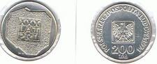 200 Zl Silbermuenze XXX LAT PRL 1974 14,5 gr. Silber TOP Zustand