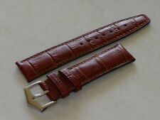 20mm Genuine Leather Band Strap Alligator-Style replacement for Patek Philippe