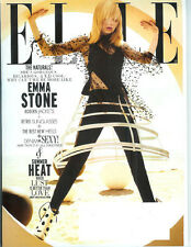 EMMA STONE Olivier Theyskens AGYNESS DEYN Kevin Bacon 2011 Elle magazine