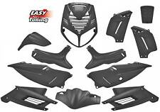 KIT CARENE CARENA PEUGEOT SPEEDFIGHT 2 NERO LUCIDO 12PZ