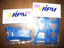 Traxxas 2wd Rustler Stampede XL5 VXL Blue Heavy Duty RPM FRONT & REAR A-Arms SET