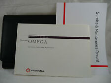 VAUXHALL OMEGA & ESTATE SERVICE BOOK HANDBOOK & WALLET PACK - 1993 To 1998
