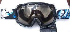 NEW $120 RARE Scott FIX Womens Black White Winter Snow Ski goggles smith Ladies