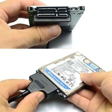 "Hard Disk Drive SATA 7+15 Pin 22 to USB 2.0 Adapter Cable For 2.5"" HDD Laptop US"