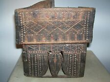 Antique chest item. India - wood