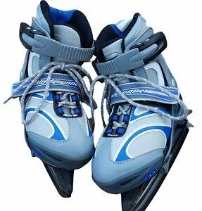 Youth Bladerunner Zoom 6.0 Ice Skates 4 Adjustable Sizes US 11 - 1