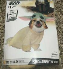 Dog pet Costume Disney STAR WARS Baby Yoda The Child Mandalorian Halloween Med M