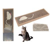 Cat Kitten Pets Scratch Pad Toy Play Corrugated Card Board Scratcher Catnip Bed