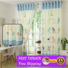Velvet Sheer Window Curtains