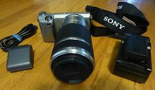 WOW! SONY Alpha NEX-5R 16.1MP Digital Camera WITH 55-210mm Zoom Lens. GREAT BUY!