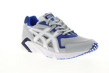 Asics Gel DS Trainer OG H704Y-020 Mens Gray Mesh Lace Up Low Top Sneakers Shoes
