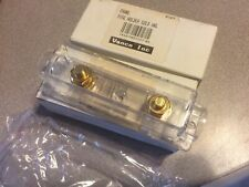 FOUR (4) VANCO FHANL Fuse Holder ANL Gold Contact Clear Enclosure - NEW