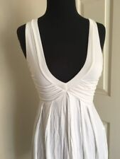 ZARA NEW WHITE GORGEOUS STYLE CASUAL FLOOR MODEL DRESS S