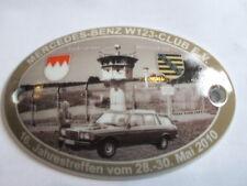 Benz W 123 Club Plaque 16. Mbmc 2010 Porcelain Stoneware