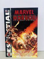 Essential Marvel Horror Volume Vol 1 Massive Ghost Rider/Son Of Satan/Satanna