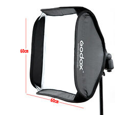 Godox 60x60cm Softbox Bag Kit for Camera Studio Flash fit Bowens Elinchrom