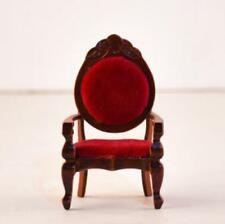 1:12 Dollhouse Miniature Vintage Single Chair Sofa Furniture For Room Kitchen