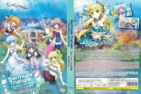 Bermuda Triangle: Colorful Pastrale (Chapter 1 - 12 End) ~ DVD ~ English Sub