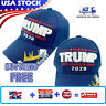 Donald Trump 2020 MAGA Hat Embroidered  Keep Make America Great Again Cap Blue