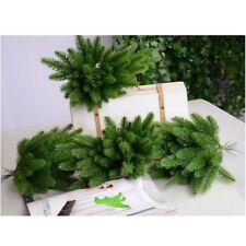 10Pcs Artificial Flower False Plants Pine Branches Christmas Party Decorations