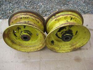 John Deere 110 140 212 214 216 300 314 - extra narrow front rims...RARE
