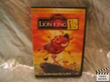 The Lion King 1 1/2 DVD Animated