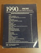 1990 Ford Probe Car Service Shop Manual Body Chassis Electrical Powertrain