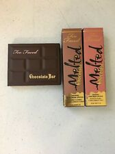 Too Faced Mini Chocolate Bar Eye Shadow & Melted Chocolate Liquified Lipstick