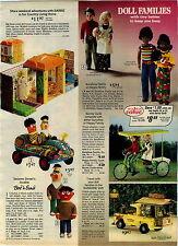 1975 ADVERTISEMENT Doll Bert Ernie Stuffed Family Happy Sunshine Surrey Furga