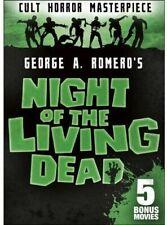 Night of the Living Dead George A. Romero's Dvd Plus 5 Bonus Movies