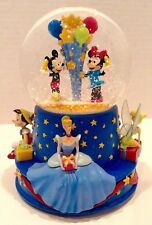 Disney & Hallmark 2001 Walt Disney 100th Musical Birthday Snowglobe Walt's 100th
