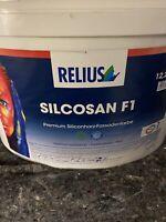 12,5  Liter Relius Silcosan F1 Farbton Siehe Offenen Eimer Restposten (3)