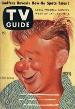 1957 TV Guide January 5 - Loretta Young; June vincent; Elinor Donahue;Gale Storm