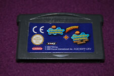 BOB L'EPONGE : SUPERSPONGE + REVENGE FLYING DUTCHMAN - THQ - Jeu Action GBA EUR