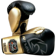 Rival Boxing RS100 Pro Sparring Boxing Gloves - Black/Gold