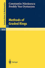 Methods of Graded Rings (Lecture Notes in Mathematics) by Constantin Nastasescu