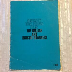 1973 Admiralty Tidal Stream Atlas - The English And Bristol Channels