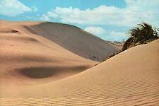 Michigan Sand Dunes & Clouds, Silver Lake State Park or Warren ? MI -- Postcard