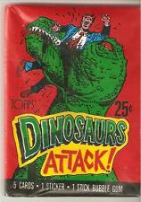 Dinosaurs Attack ,trading card pack