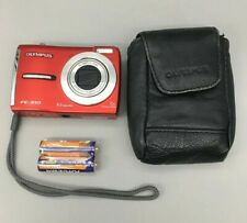Olympus FE FE-310 8.0MP Digital Camera - Red - Fast Free Shipping - C19